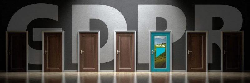 GDPR Wallpaper with doors