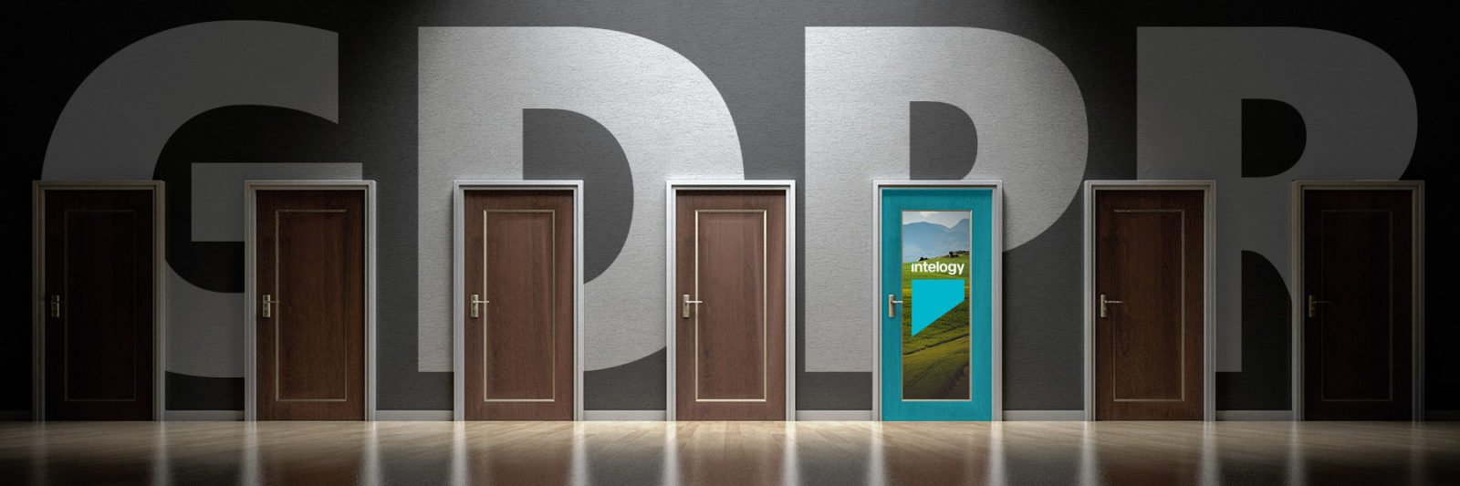 GDPR Wallpaper with doors
