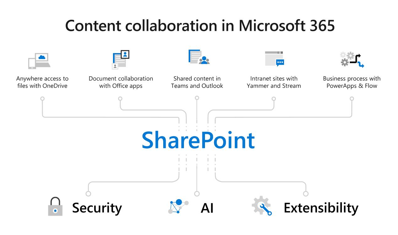 Content collaboration in Microsoft 365