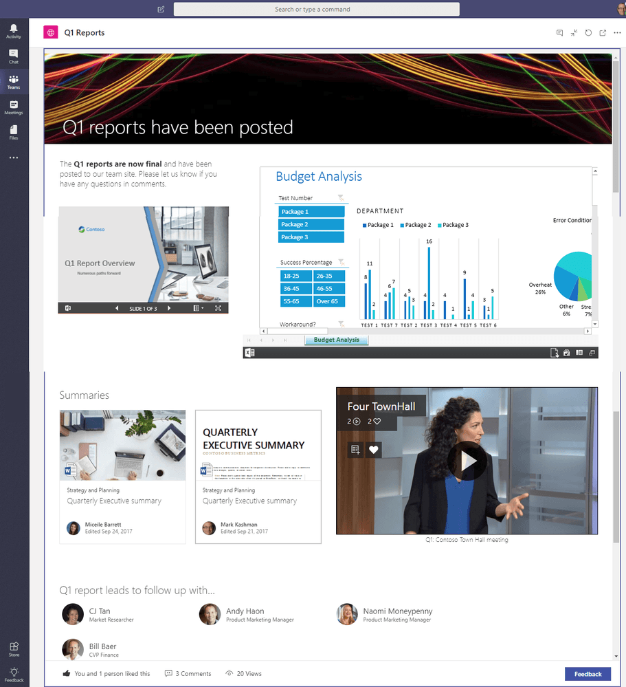 What's new in Office 365 – April 2018 | Intelogy