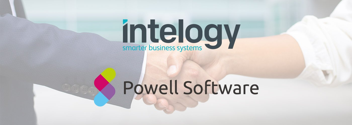 Intelogy and Powell Software handshake