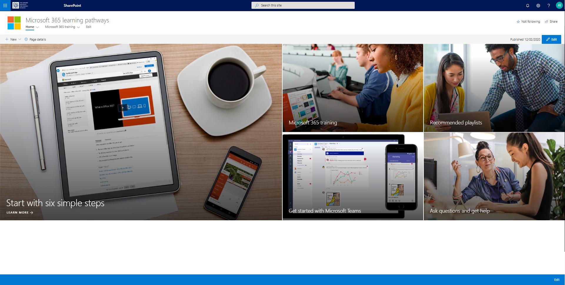 Microsoft Learning Pathways