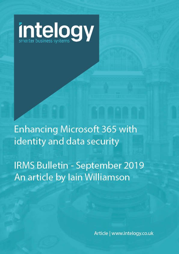 Enhancing Microsoft 365 with identity and data security
