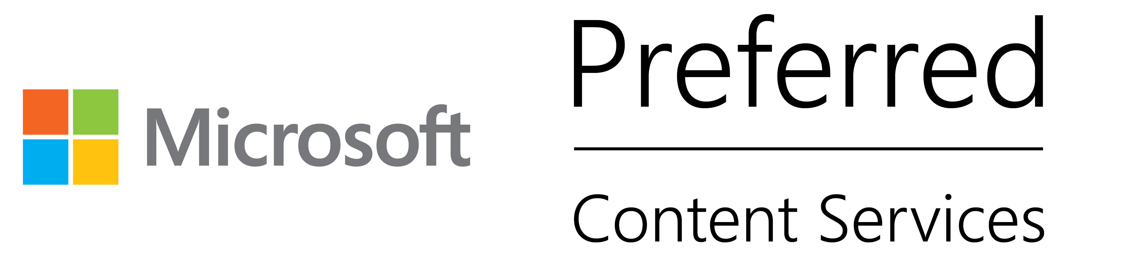 Microsoft Preferred Content Services Provider