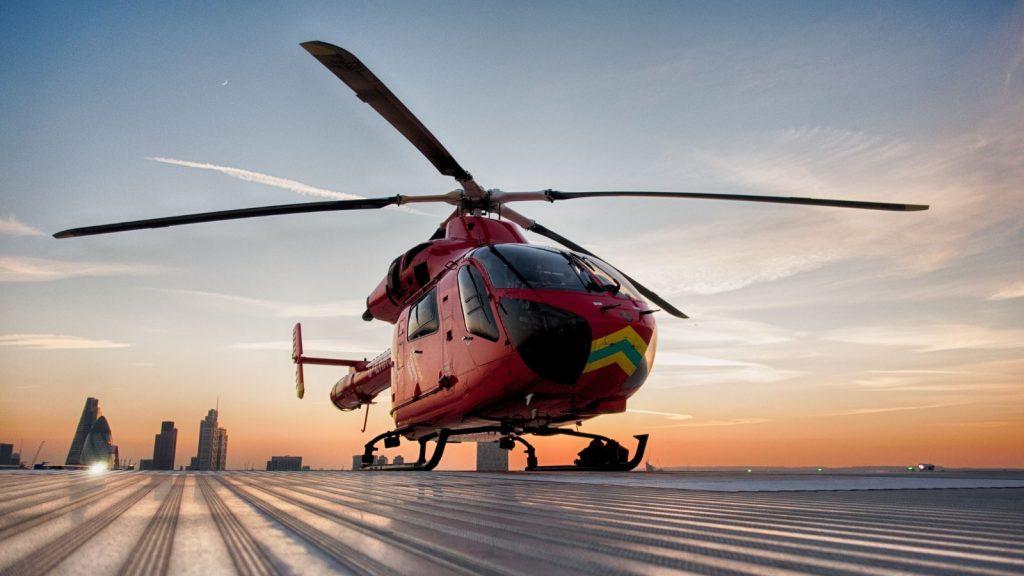 LAA helicopter