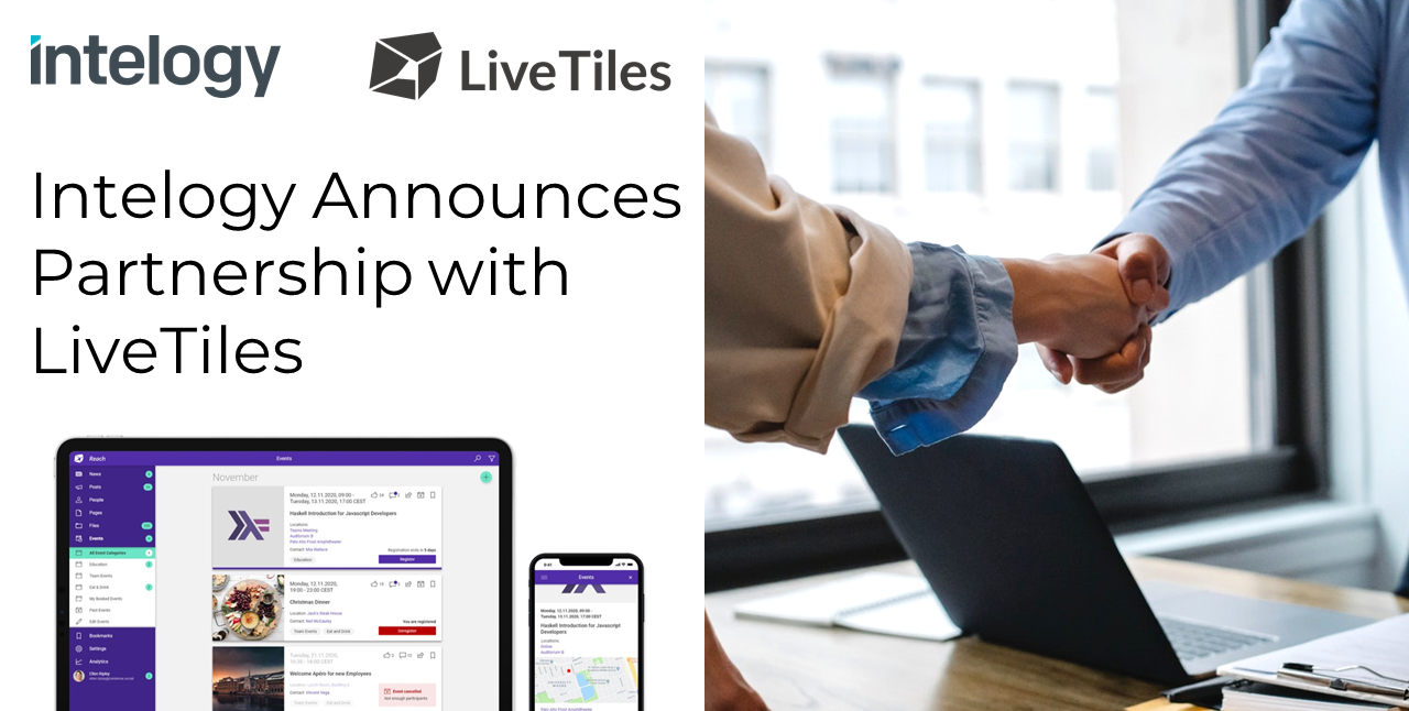 Intelogy LiveTiles Partnership