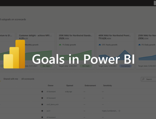 Power BI Goals: Everything you need to know [Video]