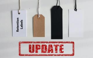 Update Retention Labels August